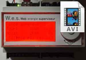 LCD alarme AVI