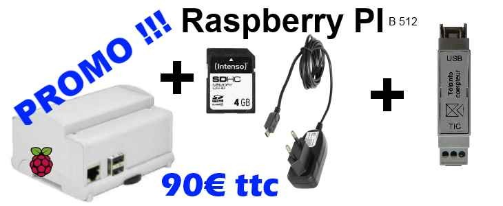 kit Raspberry domotique Promo
